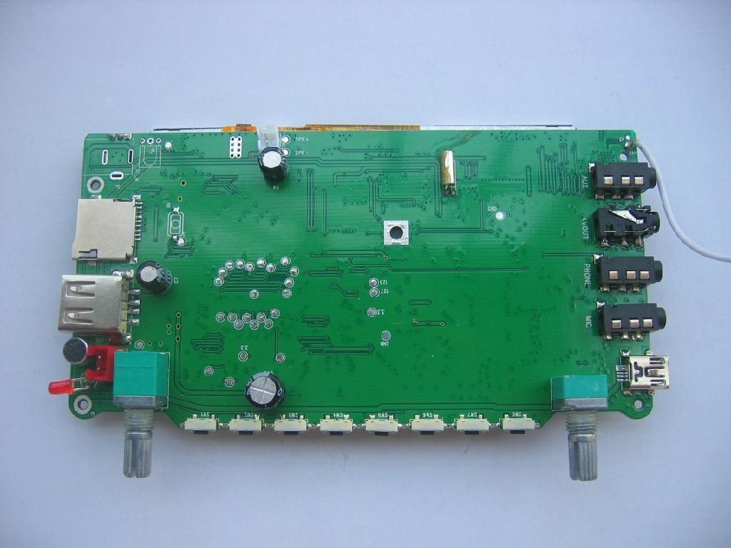 4.3寸音視頻解碼板 1