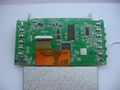 4.3 inch TFT audio and video decoding board 2
