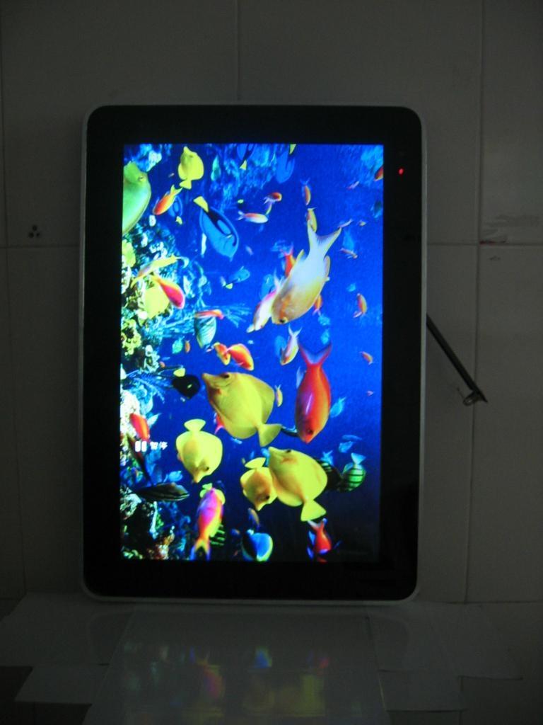22寸豎顯液晶圖片廣告宣傳機