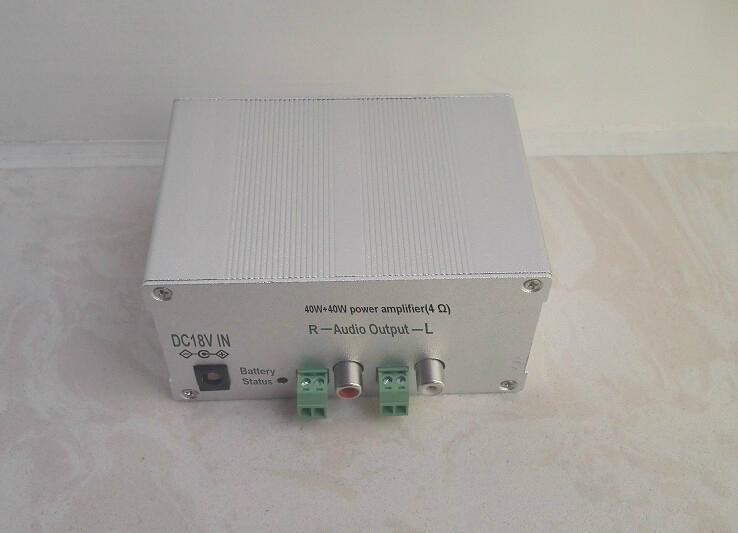 40W+40W Bluetooth audio class-D power amplifier   Bluetooth audio receiver 1