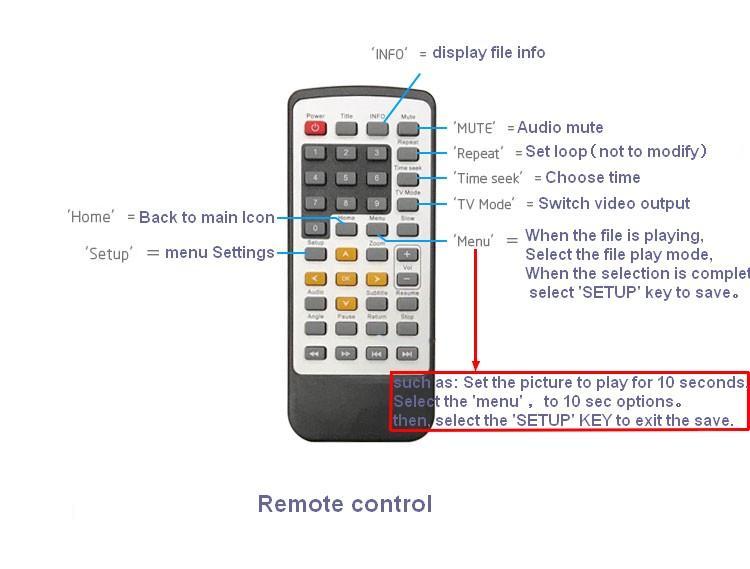 展览视频宣传控制器/按钮RS485命令/宣传文件播放器 3