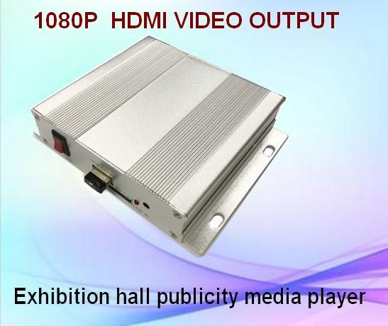 展览视频宣传控制器/按钮RS485命令/宣传文件播放器 1
