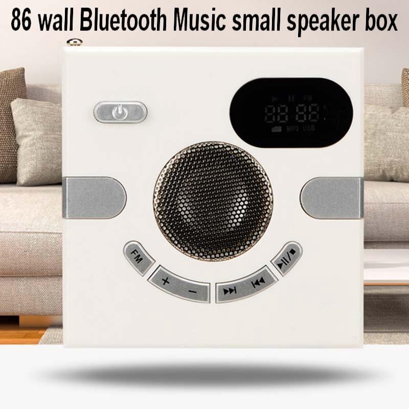 86 Horizontal wall type  Bluetooth Music small speaker box