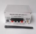 Bluetooth power amplifier 40W+40W output/Built in batte4000mAh/external speakers 4