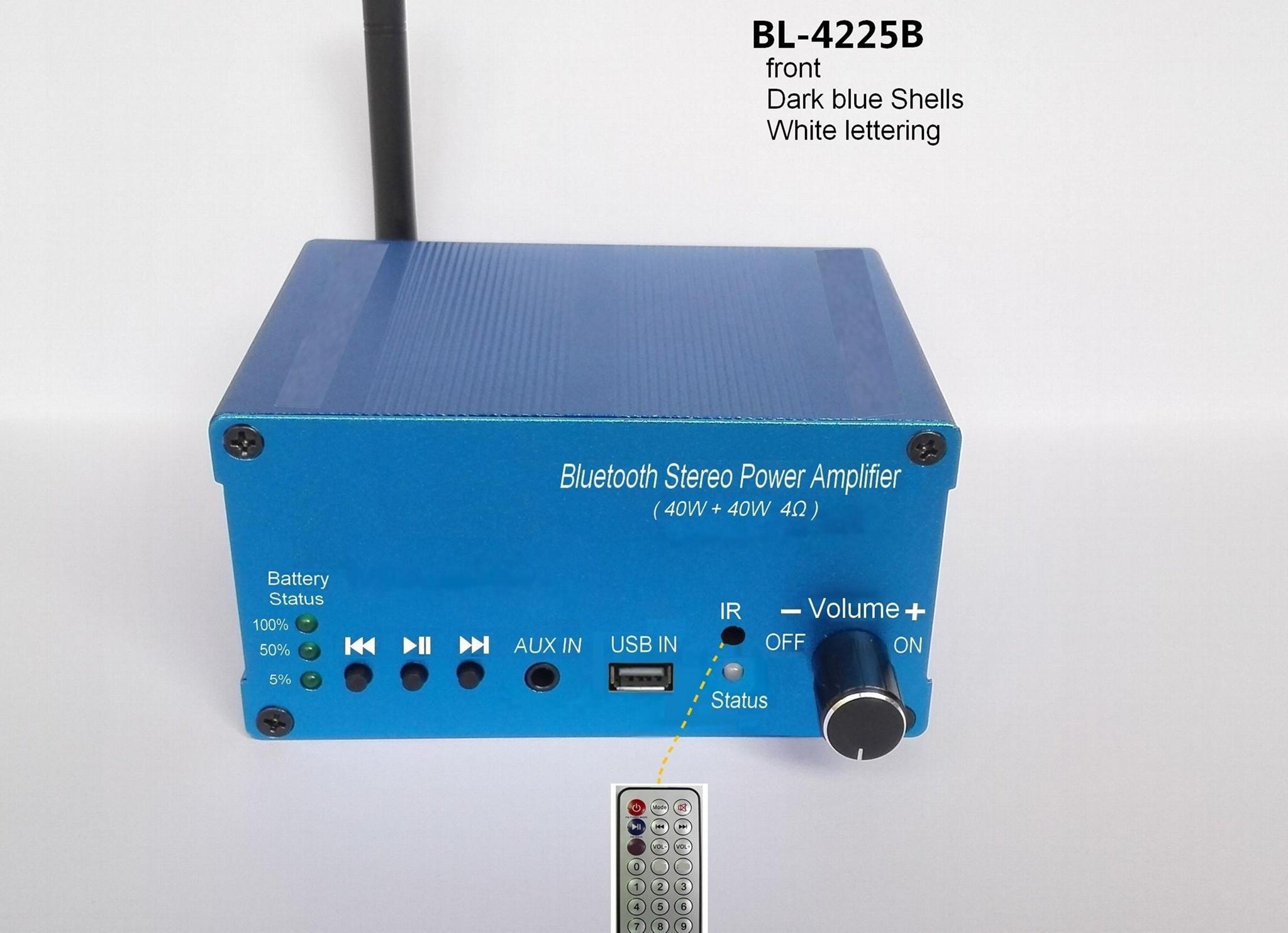 wireless Bluetooth Audio power amplifier 40Wout/Built in batte4000mAh/external
