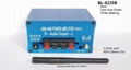 MP3 Bluetooth Audio power amplifier 40Wout/Built in batte4000mAh/external  2