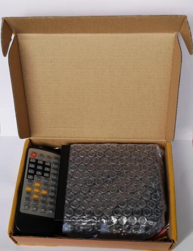 Auto loop media file player 720p media player DC12V to 24V 2