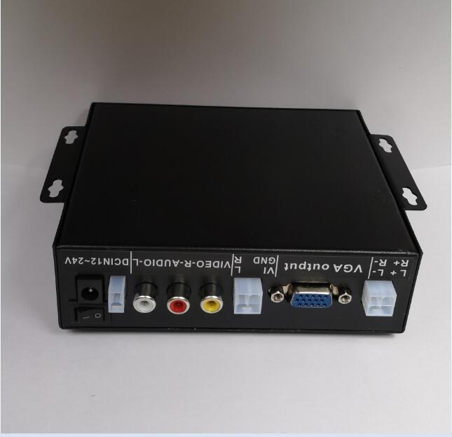 Auto loop media file player 720p media player DC12V to 24V 3