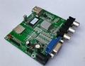 视频解码板单片机IO或5按键一对一指定播放输出IO高低电平 2