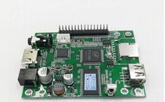 串口控制視頻1080P解碼板按鍵一對一指定播放HDMI輸出