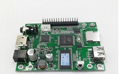 串口控制视频1080P解码板按键一对一指定播放HDMI输出