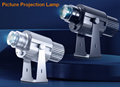 LED AD static photos projection lamp ground shop logo projection lamp 15W
