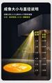 LED广告静态图片投影灯地面商铺投射灯35W