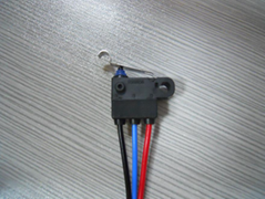 Original OMRON sealed waterproof micro switch / cable