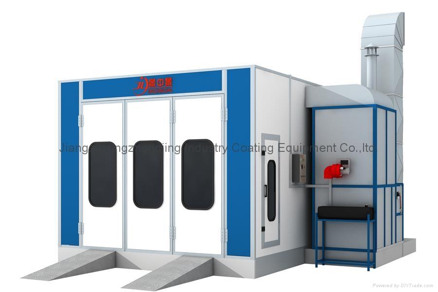 Paint Booth (Model: JZJ-9100) 1