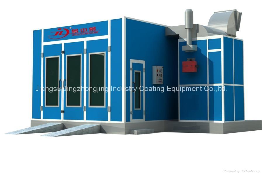 Paint Booth (Model: JZJ-9200) 1