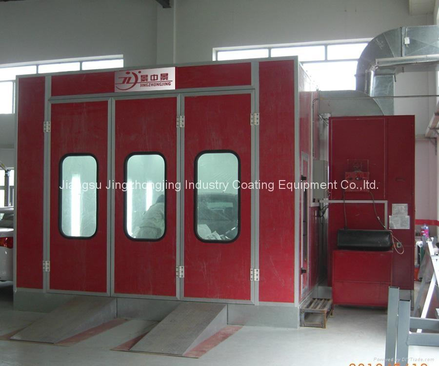 Paint Booth (Model: JZJ-9200) 4
