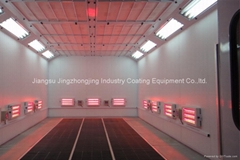 Infrared Heating System Paint Booth (Model: JZJ-9200)