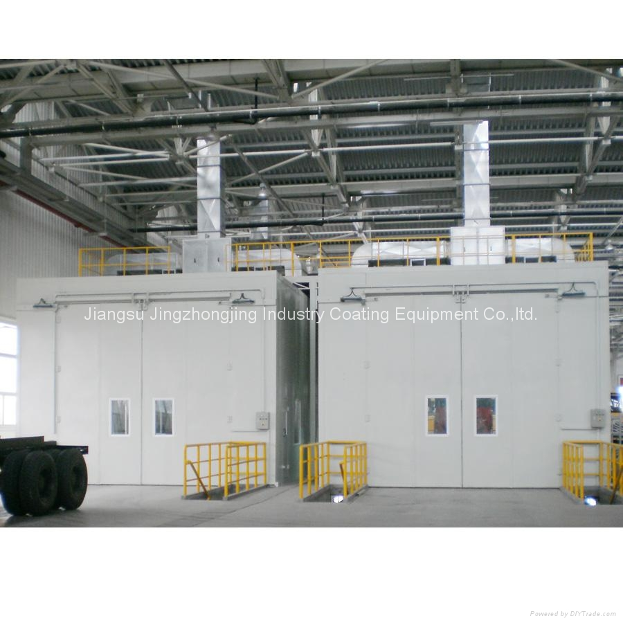 Ventilation System Install on The Top (model: JZJ-9400) 1