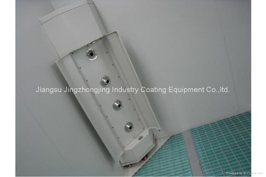 water based paint spray booth model jzj 9500 china manufacturer. Black Bedroom Furniture Sets. Home Design Ideas