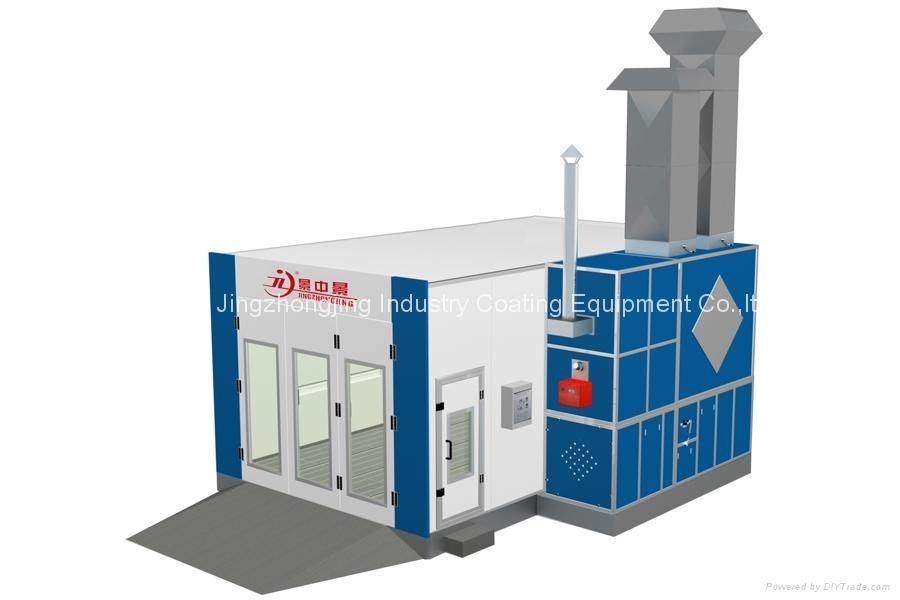 Automobile Paint Booth for North European Market (Model: JZJ-9600) 2