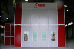 Passanger Spray Booth fo