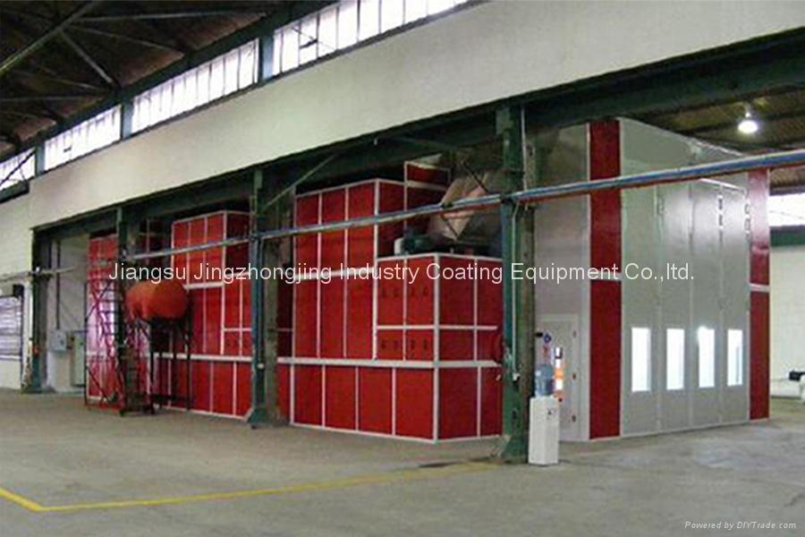 Passanger Spray Booth for 18000*5000*5000 (Model: JZJ-FB-18) 2
