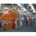 Bus Spray Booth for 15000*5000*5000