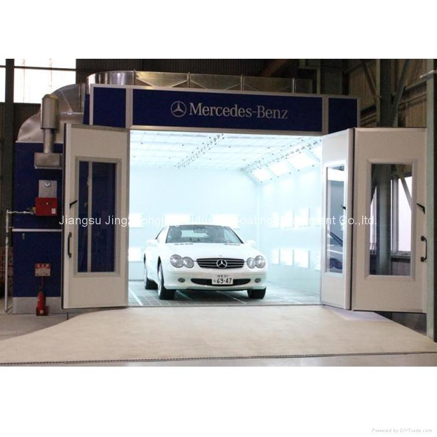 Car Spray Booth for Benz (JZJ-8000) 1