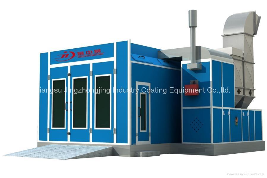 Car Spray Booth for Australia Market (Model: JZJ-8000-AU-B) 1