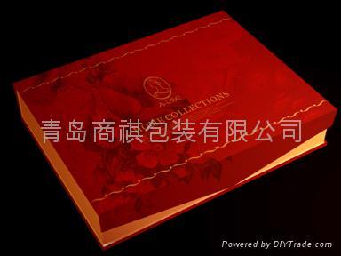 青島床上用品包裝盒印刷加工裱糊 1
