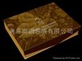 青島床上用品包裝盒印刷加工裱糊 2