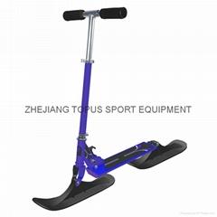 Snow ski scooter