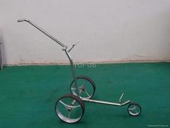 golf push trolley
