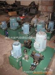 青島液壓系統 石材切割液壓系統