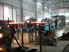 铜杆生产线