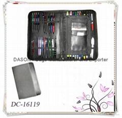 Leather Zipper Pen Case