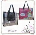 Printed Clear PVC Tote Bag