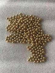 郓城康达钢球现货供应1.0mm1.1mm2.0mm铜球铜珠