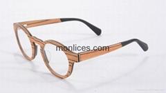 layered wood  optical frame