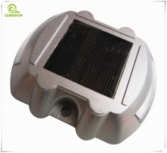 Horseshoe shaped solar road stud