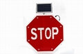 Solar traffic sign schoolbus stop sign road safety marker