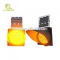 Traffic warning lights LED light road