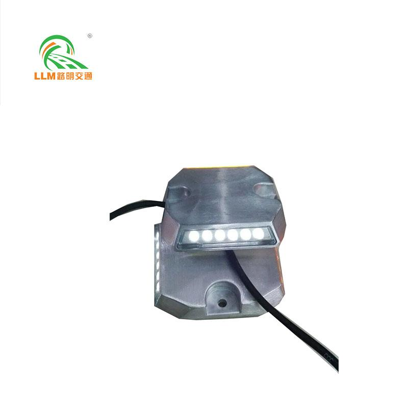 Aluminum wired road stud for tunnel use  1