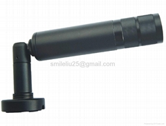 Mini weatherproof bullet camera with varifocal lens