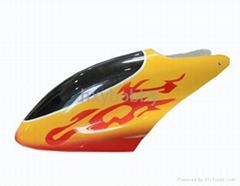 450 fiber glass canopy, for T-rex 450 V2/SE helicopter