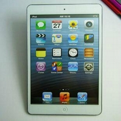 The IPAD MINI tablet PC model apple tablet model - white