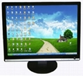 "19""Office furniture white ultra-thin dummy LED display"