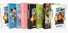卡通风格道具仿真书 儿童房装饰假书 装饰书籍摆件 摄影模型书