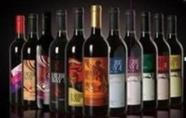 酒店装饰用酒、仿真红酒、酒窖装饰红酒 1